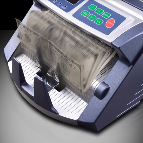 3-AccuBANKER AB 1100 PLUS UV/MG macchina contabanconote