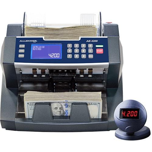 1-AccuBANKER AB 4200 UV/MG macchina contabanconote
