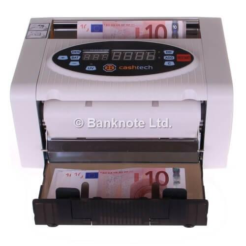 3-Cashtech 340 A UV  macchina contabanconote