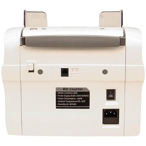 3-Cashtech 3500 UV/MG macchina contabanconote