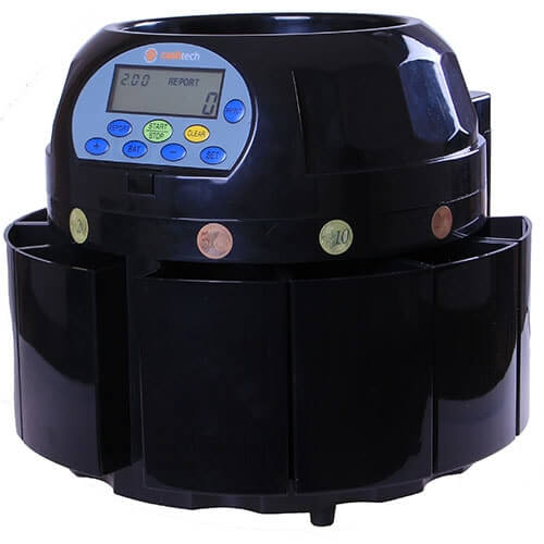 2-Cashtech 420 EURO macchina contamonete