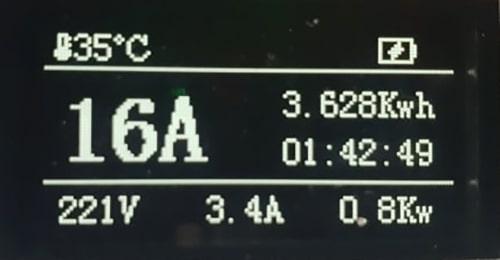 4-EV EVSE Type1 (max. 16A) Cavo di Ricarica per Auto Elettriche