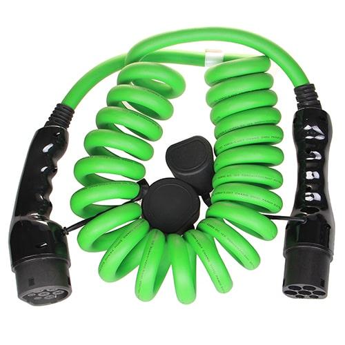 2-EV Type2 -> Type2 spiral (3x32A) Cavo di Ricarica per Auto Elettriche