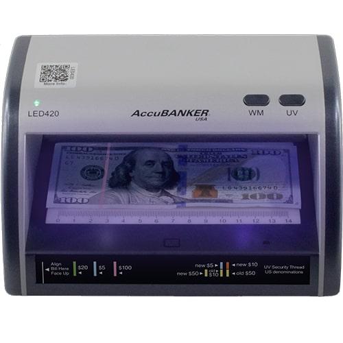 1-AccuBANKER LED420 verificatore banconote