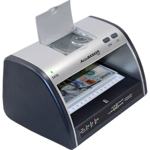 2-AccuBANKER LED430 verificatore banconote