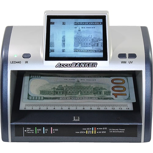 1-AccuBANKER LED440 verificatore banconote