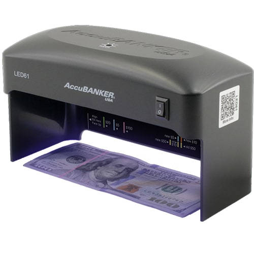 1-AccuBANKER LED61 verificatore banconote