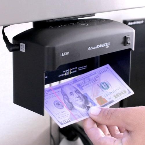 2-AccuBANKER LED61 verificatore banconote